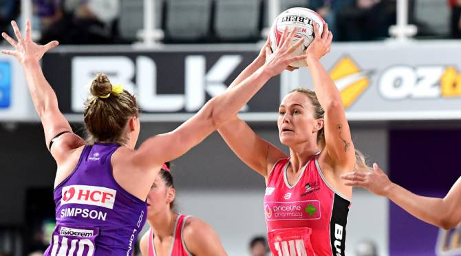 Women sport news - Thunderbirds Keep Firebirds Win-Less