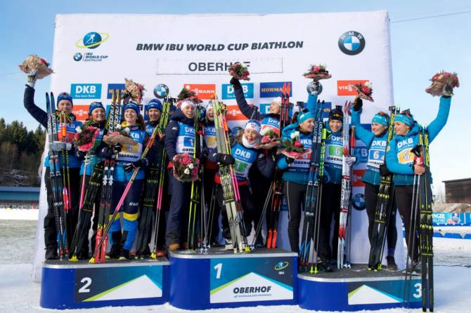 Women sport news - Tiril Eckhoff's standing shooting seals Norwegian relay victory