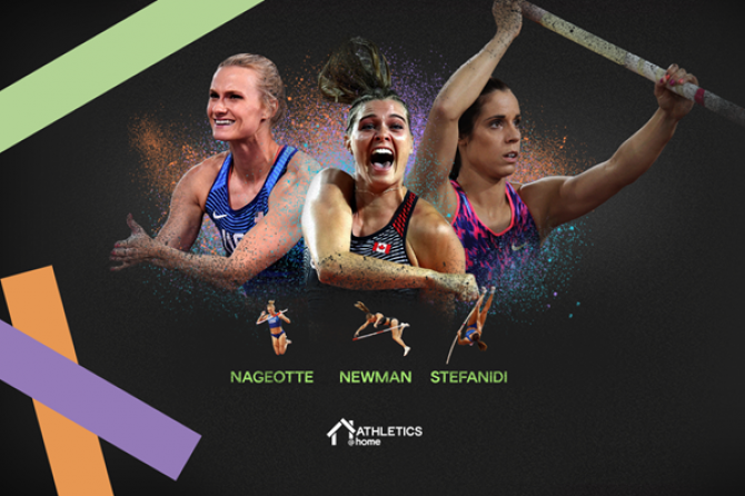 Women sport news - TOP FEMALE POLE VAULTERS FACE THE BAR IN THE ULTIMATE GARDEN CLASH