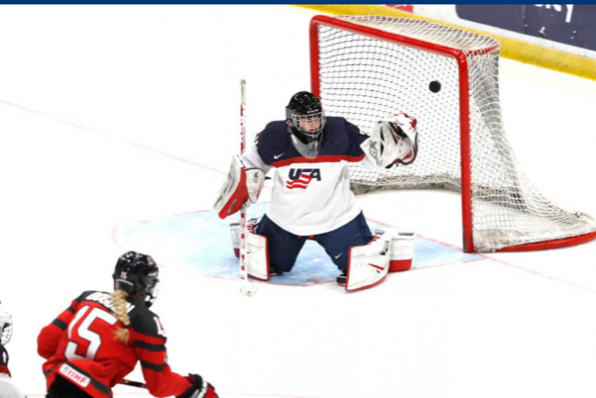 Women sport news - U22s earn 4-3 win in OT, U18s fall 5-4; Both series resume Thursday