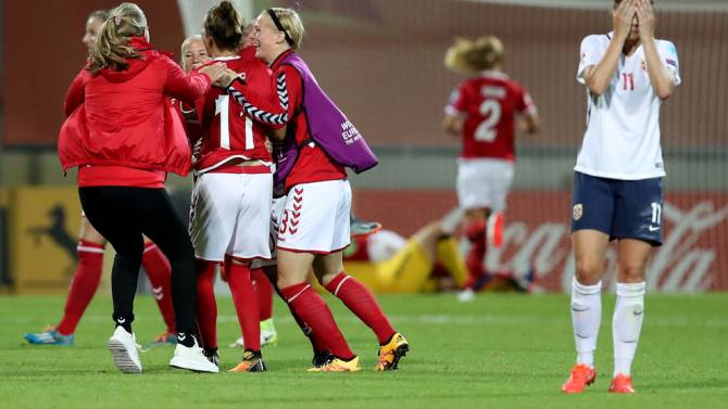 Women sport news - UEFA Women's Euro-Denmark beat Norway to Go through