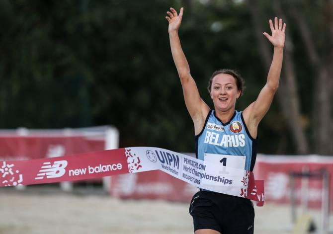 Women sport news - UIPM 2020 Pentathlon World Cup Cairo: World champion Silkina (BLR) leads line
