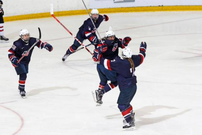 Women sport news - U.S. Defeats Canada, 3-1, in U18 Series Finale