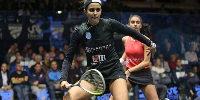 Women sport news - U.S. OPEN QF: EL TAYEB POWERS PAST COMPATRIOT ELARABY