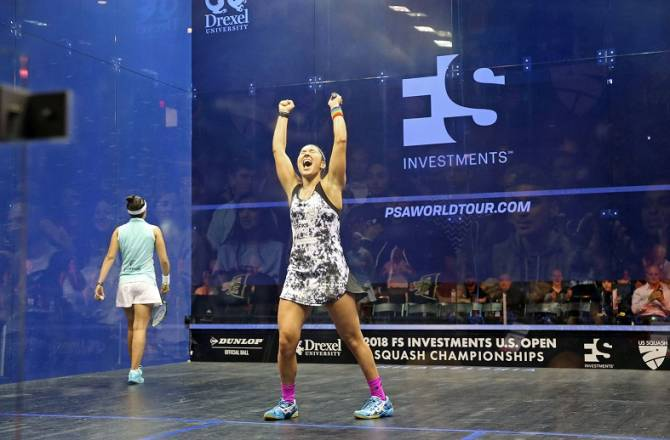 Women sport news - US Star Sobhy Comes Back to End El Tayeb's U.S. Open Title Defence