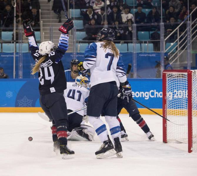 U.S. Women Advance to Gold-Medal Game with 5-0 Victory Over Finland