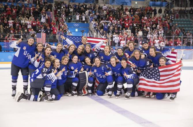 Women sport news - U.S. Women Golden at 2018 Olympics