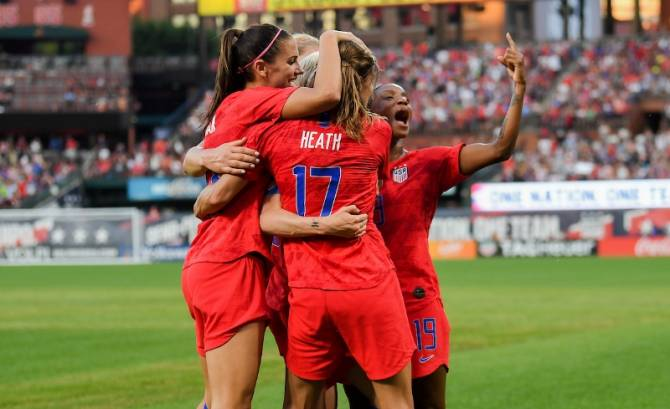 Women sport news - USA defeat New Zealand 5-0