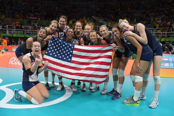 Women sport news - USA rise high wall to stop Netherlands for bronze medal