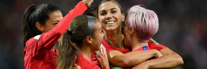 Women sport news - USA Surges to World Cup Record 13-0 Win