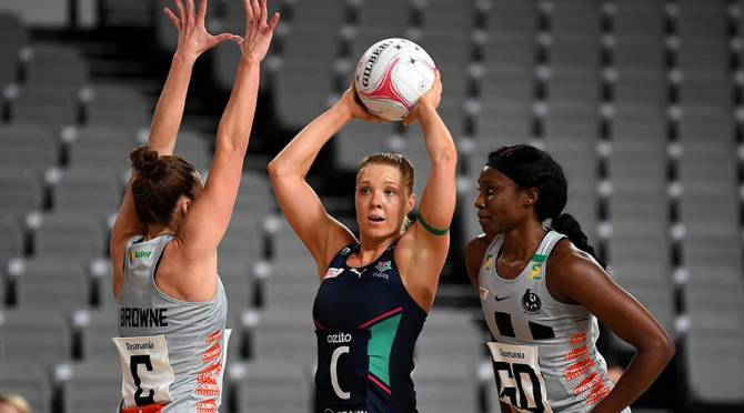 Women sport news - Vixens stave off Magpies in opening round closer