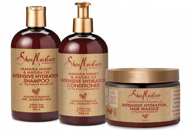 Shea Moisture Manuka Honey & Mafura Oil all range