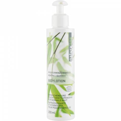 Women sport products - Naturaline Peppermint-Bamboo Body Lotion