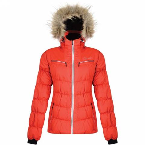 Women sport products - DARE 2 Be REFINED JACKET - SEVILLE RED