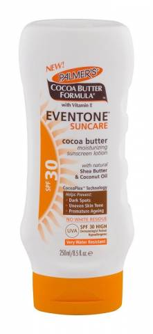 Women sport products - New Palmers Cocoa Butter Formula Eventone Suncare