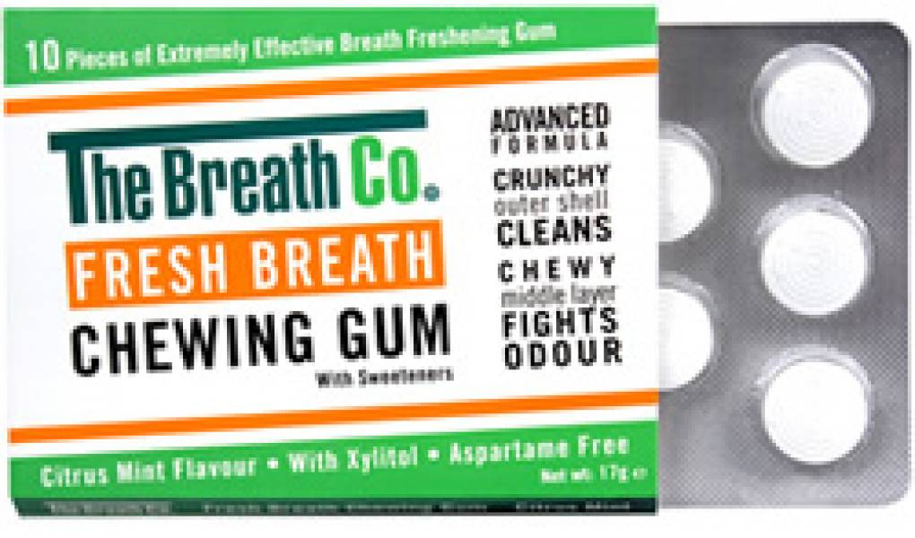 The Breath Co Chewing Gum