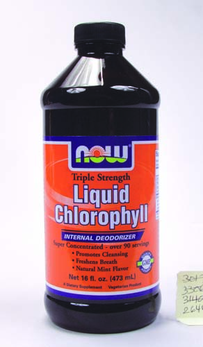 NOW Foods, Liquid Chlorophyll Mint