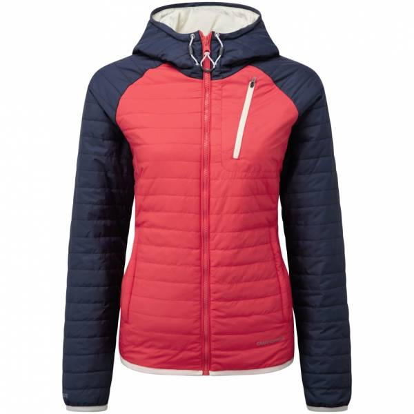 CRAGHOPPERS RESPONSE COMPRESSLITE JACKET WATERMELON NAVY