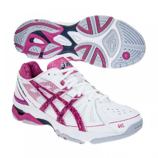 pink netball trainers